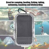 Waterproof Shockproof Box Plastic Outdoor Survival Box Case Storage Contain T9W1