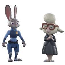 Disney Zootropolis Personnage Paquet De Figurines - Judy Hopps et Mai Bellwether