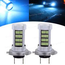 H7 92SMD LED BULB ICE BLUE 8000K Bulb lamp CAR DRL Headlight FOG Tail LIGHT 12V