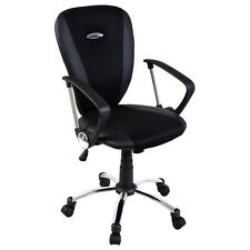 Goplus Modern Ergonomic Computer Task Executive Mid-Back Desk Office Chair Black