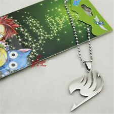 Femmes Hommes Cosplay Anime FAIRY TAIL Natsu Dragneel Guild Collier Cadeau G1v