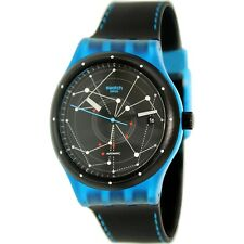 Swatch Men's Sistem51 SUTS401 Black Rubber Automatic Fashion Watch