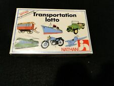 Transportation Lotto - Educational Game by Nathan - Age 4 and up