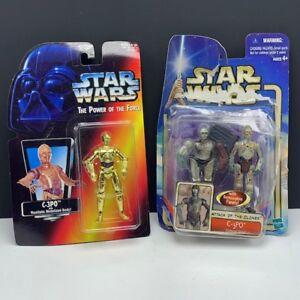 Star Wars action figure vintage Kenner vtg lot moc C-3PO gold attack clone droid