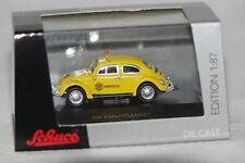 VW Käfer ÖAMTC Pannenhilfe gelb 1:87 Schuco neu + OVP 25704