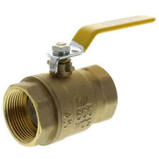 "1-1/2"" Brass Ball Valve - IPS Full Port Threaded 600WOG (Lead Free)"