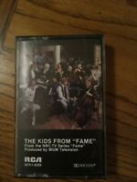 The Kids From Fame Soundtrack Cassette 1982 NBC Electronic Pop Free Shipping