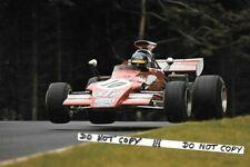 9x6 Photograph , Ronnie Peterson , March 721G ,  German GP  Nurburgring 1972