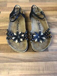 Birkenstock Betula Narrow Fit Black Sandals - Size 5.5/EUR 39