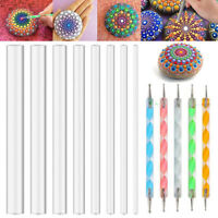 13Pcs Mandala Dotting Tool For Painting Rock Dot Kit Rock Stone Painting Pen #