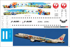 1/144 PAS-DECALS decals for Embraer 190 REVELL JAL Minions