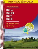 MARCO POLO Reiseatlas Italien 1:300 000 Taschenbuch MARCO POLO Reiseatlanten