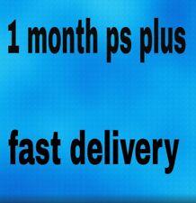 1 Month PS Plus PS4-PS3 -Vita ( NO CODE )