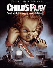 Childs Play (Blu-ray, 2016; Scream Factory Collector's Ed.) NEW w/ Slipcover