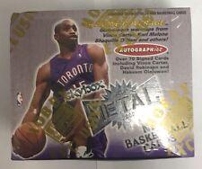 1999-00 Fleer Skybox Metal Basketball Factory Sealed Hobby Box