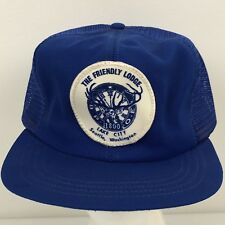 Freemason The Friendly Lodge Lake City WA Trucker Hat Snapback Cap M/L Masonic