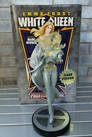 2010 Marvel White Queen Clear Version Painted Statue # 100/1000 Bowen Designs