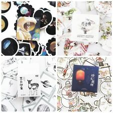 90Pcs/lot Cartoon Animals Classical Chinese Style Decoration New Label Sticker