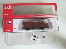 Spur H0 Rivarossi HR 6204 Gedeckter Güterwagen Materialkurswagen DR Ep. IV (113)