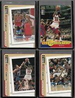 MICHAEL JORDAN 4 CARD LOT NBA CHICAGO BULLS ALL STAR