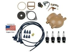 Complete Tune Up Kit For Ford 9n 2n Amp 8n Tractors With Front Mount Distributor