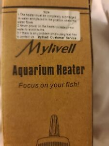 Mylivell Aquarium Water Heater Submersible 200W EH-200W ~ NEW