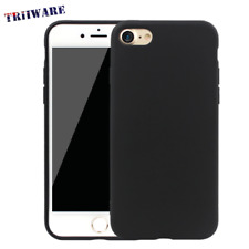 iPhone X / 8 / 7 / 6 / 6S Plus Ultra Slim Matte Black Case Cover For Apple