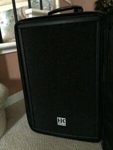 """HK Premium Audio PR:O8 8 Ohms 300W RMS 600W  8"""" 2 WAY MONITOR MADE IN GERMANY"""