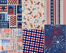 Americana Patriotic July 4 Flannel back Vinyl Tablecloths. Round, Oblong, Square