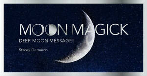 Moon Magick Messages Mini Cards by Stacey Demarco 9781925946154