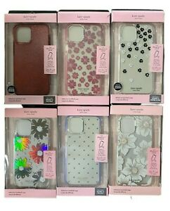 """Kate Spade New York Defensive Hardshell Case for iPhone 12 Pro Max 6.7"""" - Colors"""