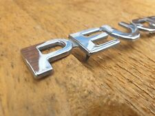 Peugeot Rear Badge Letters Writing 206 106 306 Genuine Used Part