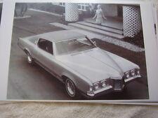 1969 PONTIAC GRAND PRIX  PHOTO MISTAKE SEE CLOSEUP   11 X 17  PHOTO   PICTURE