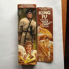 1970's Durham Kung Fu Kick & Chop Action Figure MIB Mint In box Mego Hasbro Era