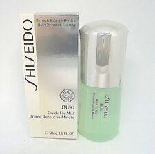 Shiseido Ibuki  Quick Fix Mist ~ 1.6 oz / 50 ml / BNIB