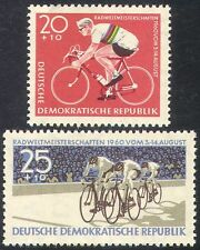Germany 1960 Cycling/Bikes/Sports/Racing/Bicycles/Transport 2v set (n41748)