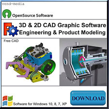 3D CAD Software, Mechanical Engineering & Product Design Modeling,   Download