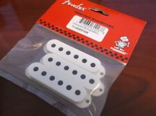 NEW - Genuine Fender Pickup Covers (3) For Strat - PARCHMENT, 005-6251-049