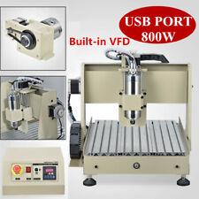 USB 4-AXIS 3040 CNC Router Engraver Fräsmaschine Graviermaschine Gravieren 800W