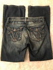 Big Star Vintage Maddie Boot Stretch Blue Jeans size 27R 27 x 31