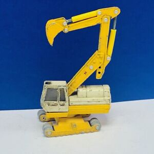 ERTL bacco construction toy vehicle cat yellow vtg diecast metal collectible