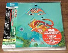 ASIA Japan PROMO limited SHM CD + DVD obi 3 BONUS TRKS John Wetton XXX S.Howe