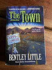 The Town - Bentley Little - 2000 Hardback - Book Club Edition - Horror Dust Jack