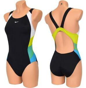 Nike Girl Racerback Bathing Suit Swimsuit Bikini Children Swim Suit Black