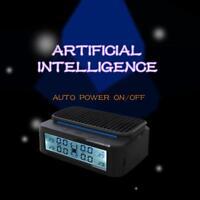 Solar Wireless TPMS LCD Car Tire Pressure Monitoring System + 4 External Sensors