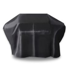 iCOVER 70 Inch 600D Heavy-Duty water proof patio outdoor black Canvas BBQ Cover