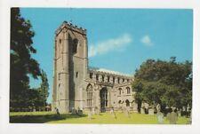 Walpole St Peter Church 1974 Postcard 812a