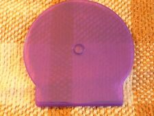 10 Pack Slim Purple C Shell Clam Case CD DVD Poly Jewel Cases see through