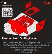 CMK 1/35 Panther Ausf. G Engine Set # 3136