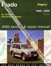 GREGORYS WORKSHOP REPAIR MANUAL TOYOTA PRADO 1996-2009